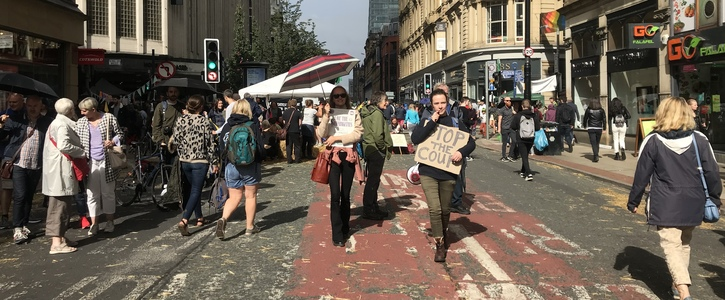 Petition Launched to Pedestrianise Deansgate