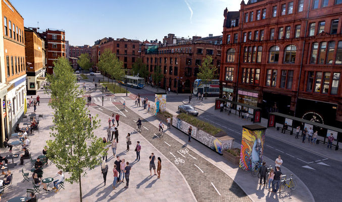 Northern Quarter Walking and Cycling Consultation Launches
