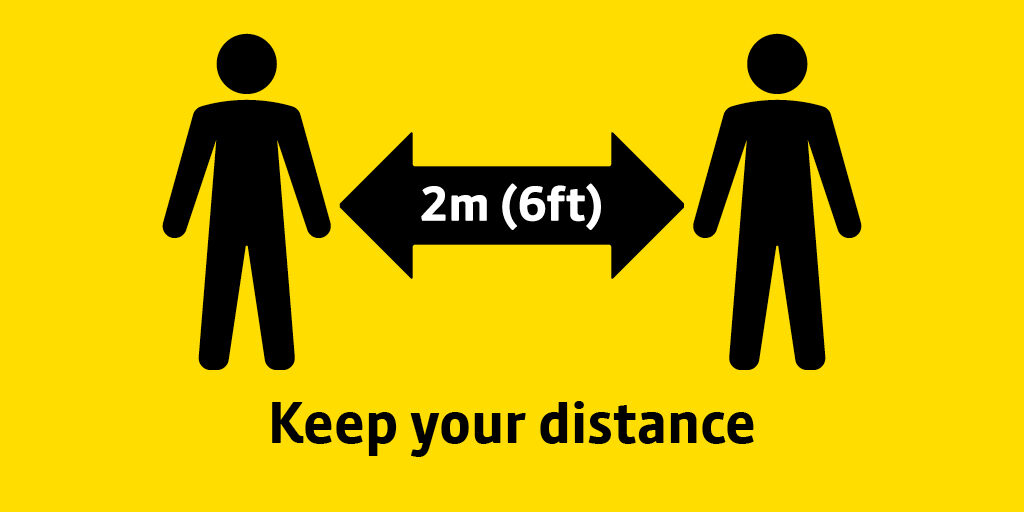 COVID-19 Keep Your Distance