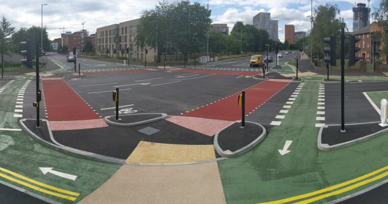 Manchester Launches CYCLOPS Junction Design to Boost Bee Network