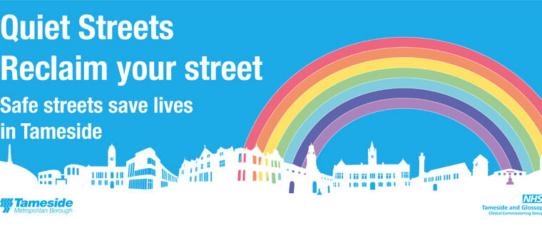 Tameside's Quiet Streets Initiative Helps Residents Reclaim Space During COVID-19
