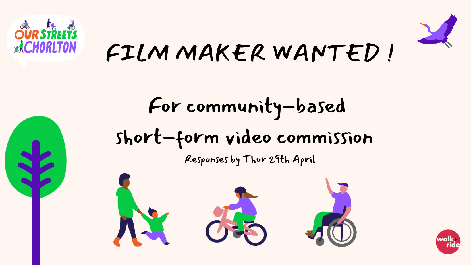 SHORT-FORM FILM / VIDEOGRAPHERS WANTED FOR COMMUNITY COMMISSION